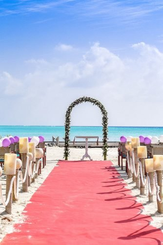 average cost of wedding venues beach wedding event