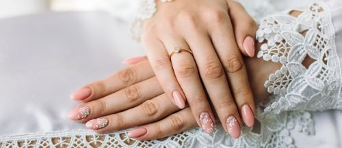bridal nails trends featured