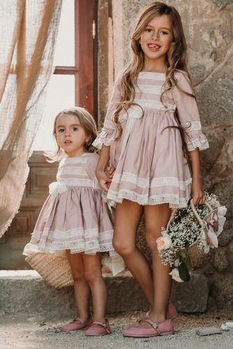 flower girl dresses rustic with sleeves delucia vestidosdearras