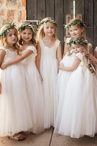 flower girl dresses simple rustic boho fattiepiedresses