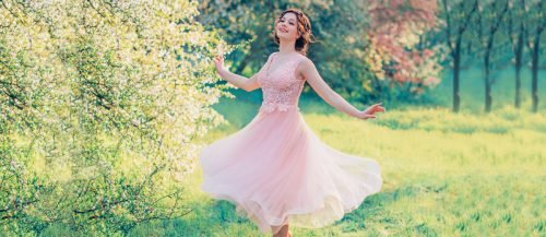 peach blush wedding dresses featured1