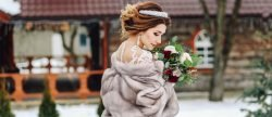 24 Winter Wedding Dresses & Outfits