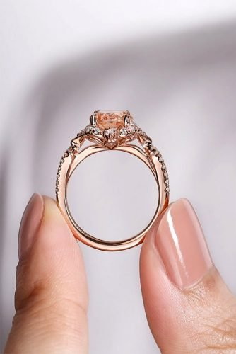 gabriel co engagement rings rose gold engagement rings unique engagement rings gabrielandco