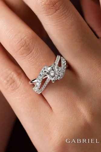 gabriel co engagement rings white gold engagement rings diamond engagement rings unique engagement rings gabrielandco