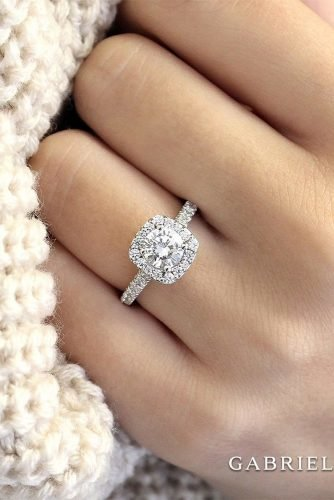 gabriel co engagement rings white gold engagement rings halo engagement rings gabrielandco