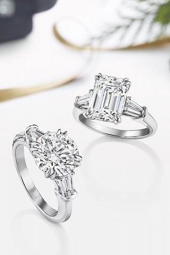 harry winston engagement rings white gold solitaire diamonds modern