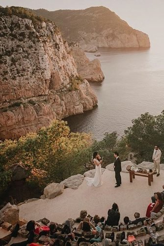 outdoor wedding venues wedding ceremony at the nature