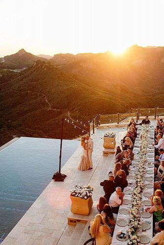 outdoor wedding venues wedding reception backyard pool