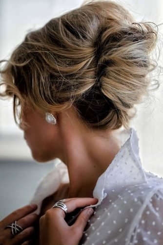 pinterest wedding hairstyles french roll messy blonde tanyaborisovacom
