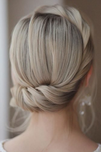 pinterest wedding hairstyles modern swept updo hair_vera