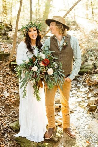 rustic groom attire vest with boutonniere country andrewedwrds