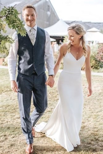rustic groom attire with tie vest country suzanneneville
