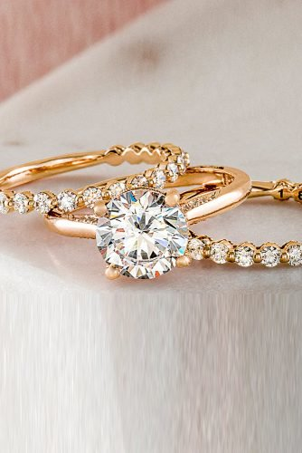 tacori engagement rings rose gold engagement rings diamond engagement rings bridal sets tacoriofficial