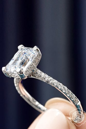 tacori engagement rings white gold engagement rings diamond engagement rings emerald cut rings tacoriofficial