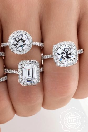 tacori engagement rings white gold engagement rings diamond engagement rings halo rings tacoriofficial