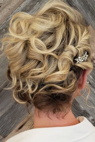 wedding hairstyles for curly hair asymmetric cut and a sparkling krystaldickerson