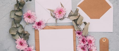 attire and adults only wording envelopes decor featured