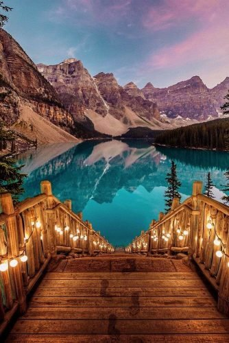 best honeymoon destinations canada lake