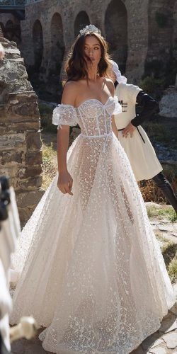 best wedding dresses a line sweetheart neckline off the shoulder dimitrius dalia