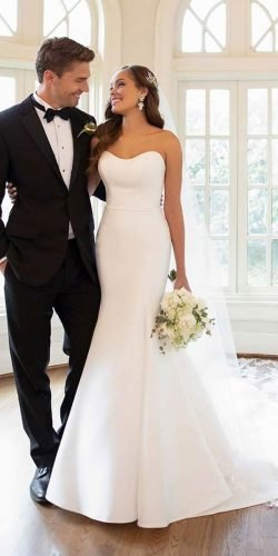 best wedding dresses sweetheart neckine simple strapless beach stella york