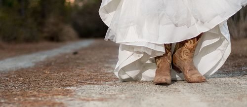 country western songs bride in cowboy boots featured
