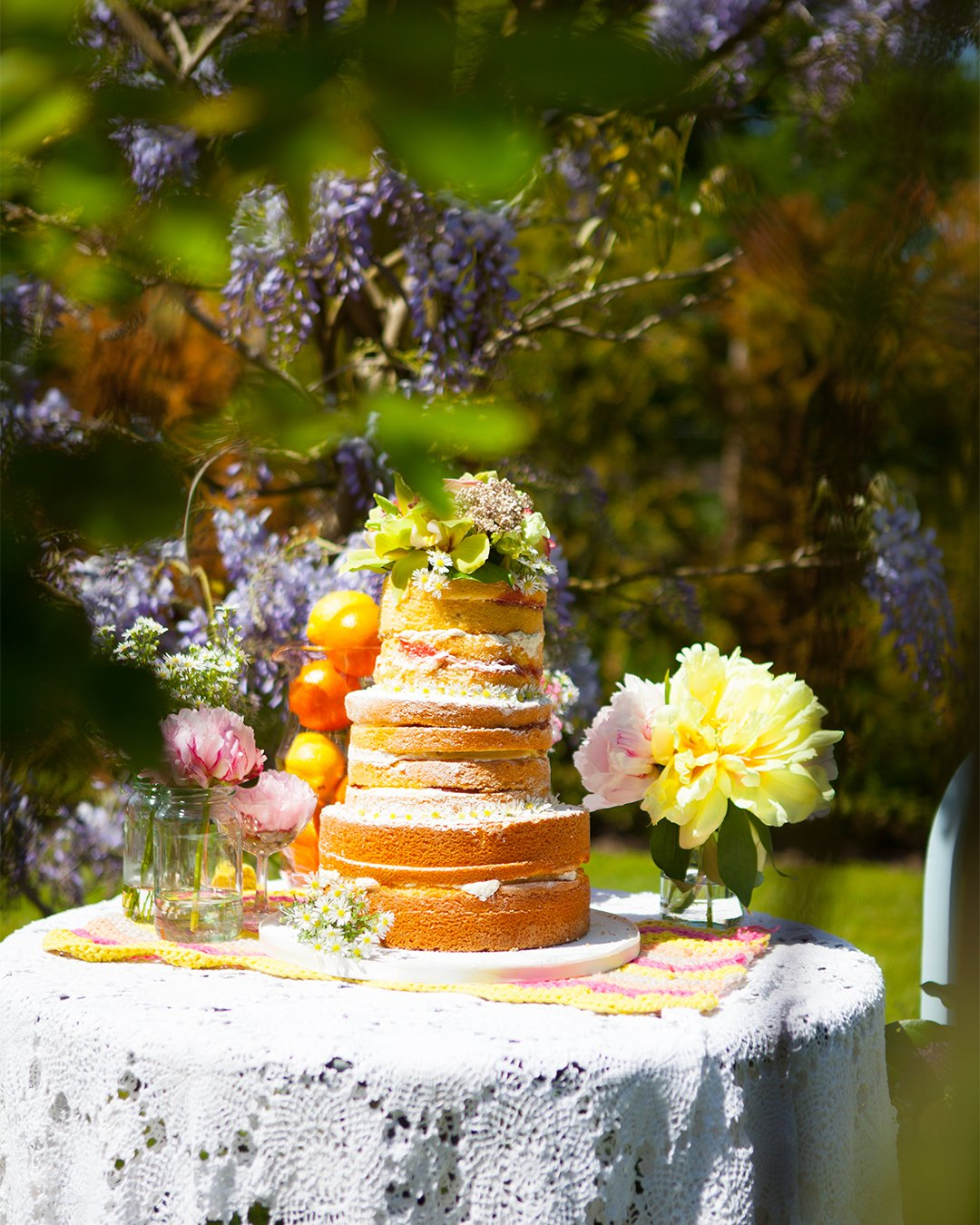 wedding cake trends naked rustic cake elizabethscakeemporium