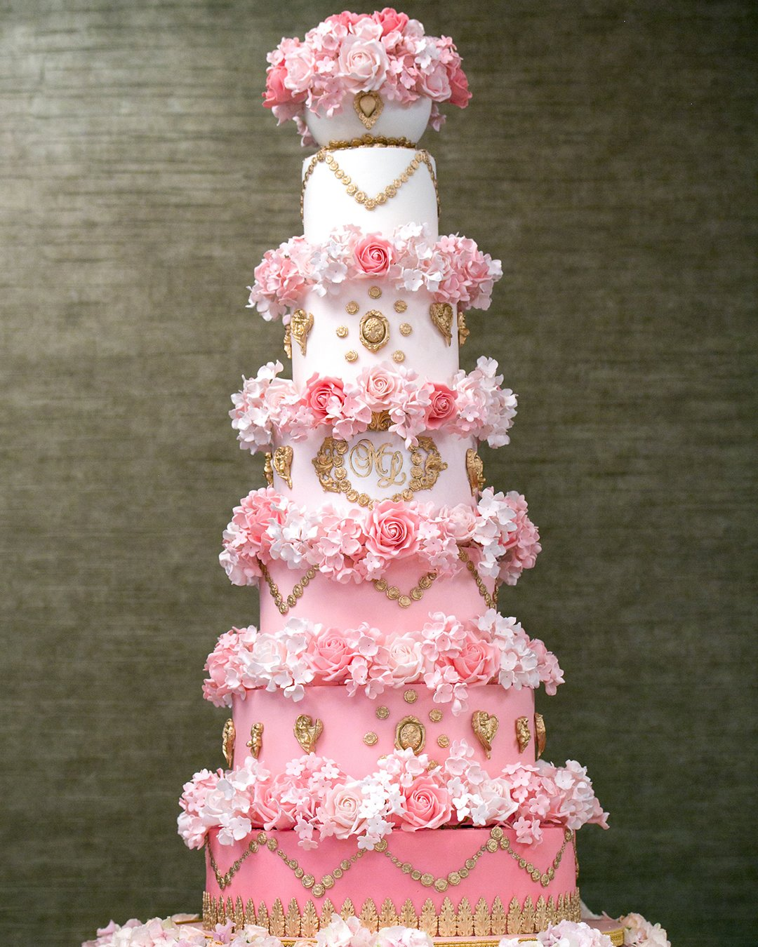 wedding cake trends pink cake with ombre elizabethscakeemporium
