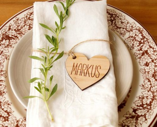 wedding place card ideas wooden wedding escort cards