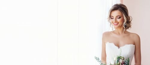 bridal beauty timeline bride smiling featured