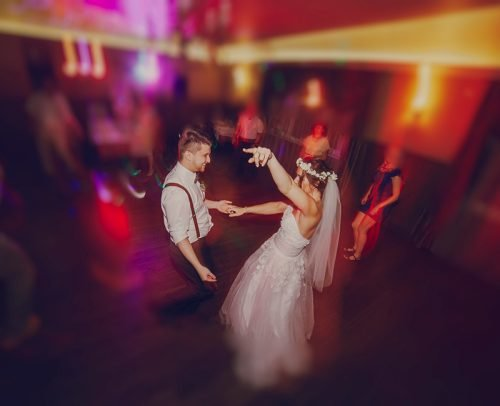 modern rock wedding songs bride and groom dancing