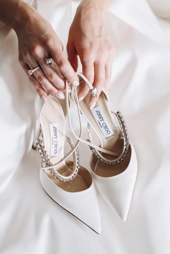 wedding shoes simple white with heels jimmy choo