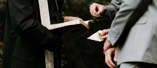 catholic wedding readings wedding ceremony with priest