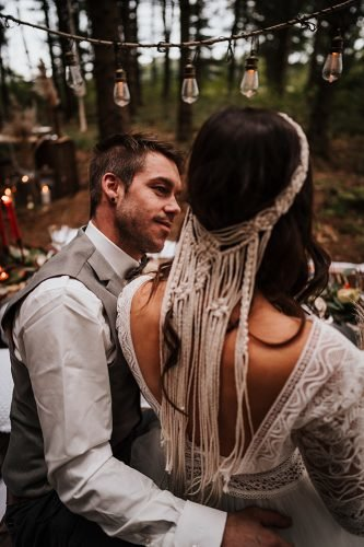 forest wedding styled shoots macrame halo fotografie danielaebner
