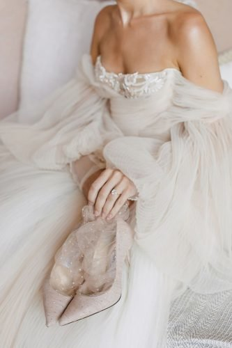wedding photography trends bridal details dress nude shoes diamond ring purpletreephotography