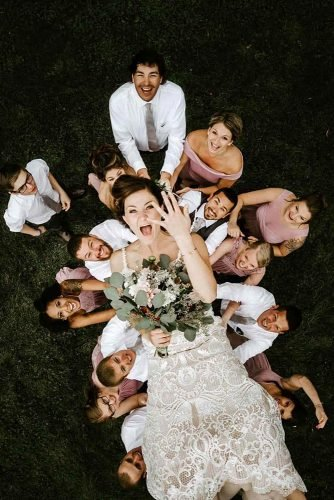 wedding photography trends drone photogrphy friends toss the bride up katie holl