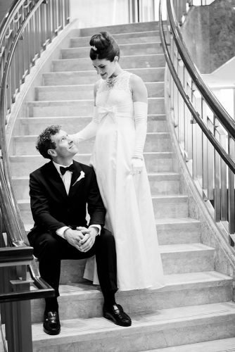 wedding photography trends groom bride breakfast at tiffany wedding theme danfoley