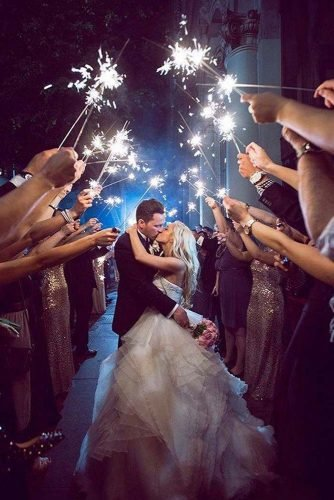 wedding photography trends groom bride night fhoto with sparklers duke photography