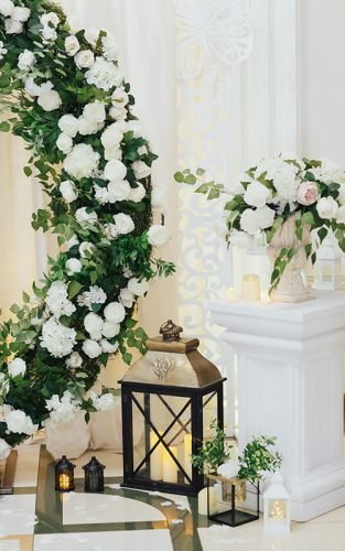 greenery wedding decor new featured