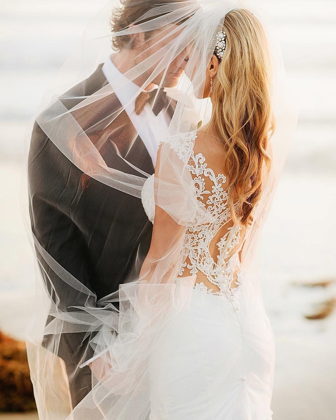 wedding budget newlyweds at the beach photo