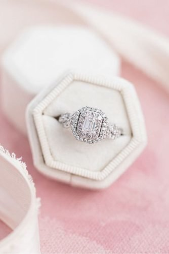 zales engagement rings emerald cut double halo white gold
