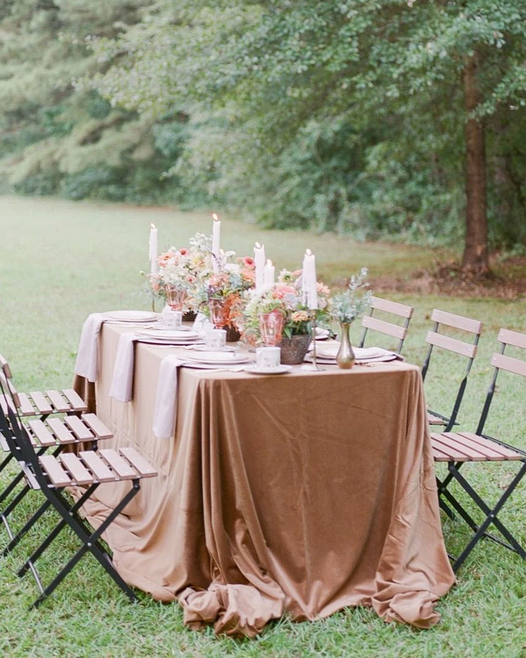 how to plan a wedding backyard wedding reception