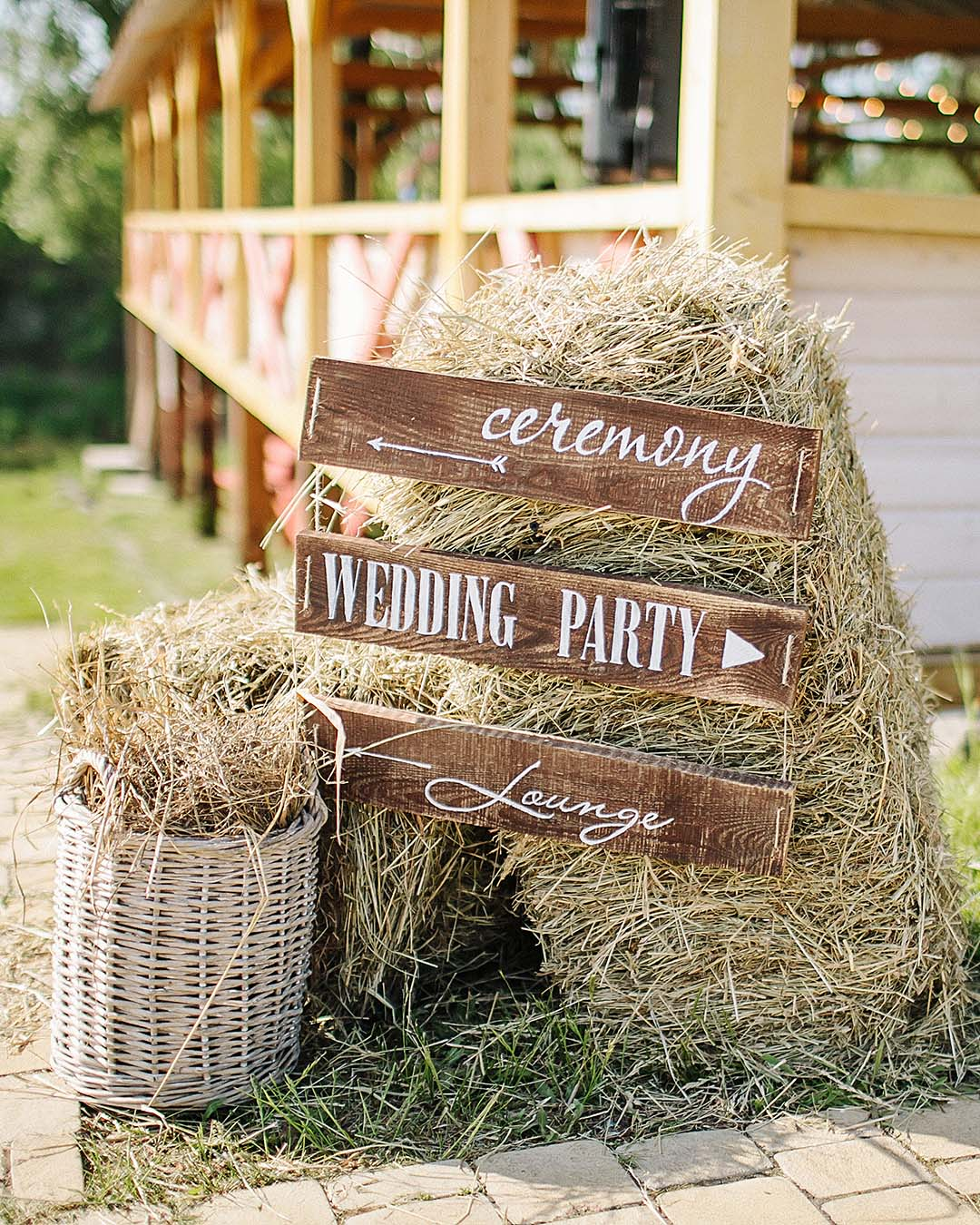 rustic wedding ideas barn wedding wedding signs decor