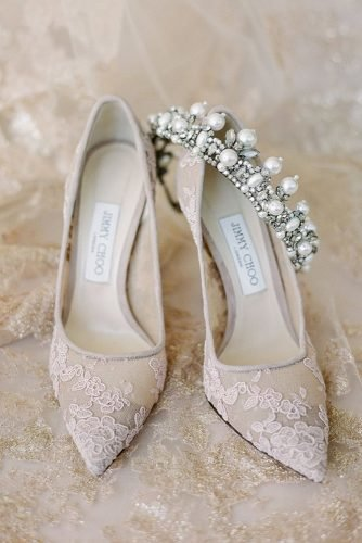 wedding shoes lace nude with heels jimmy choo