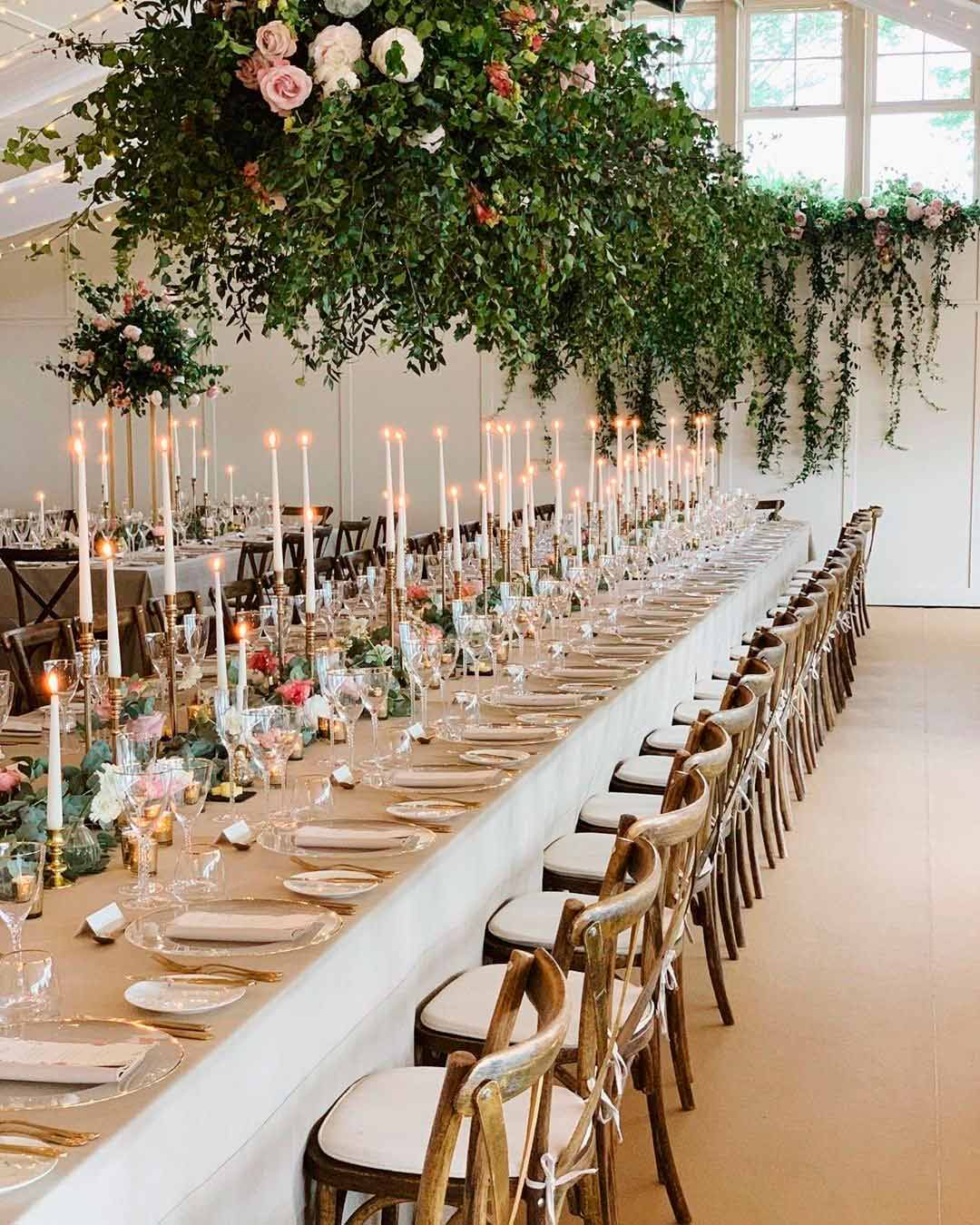 wedding trends table seatting