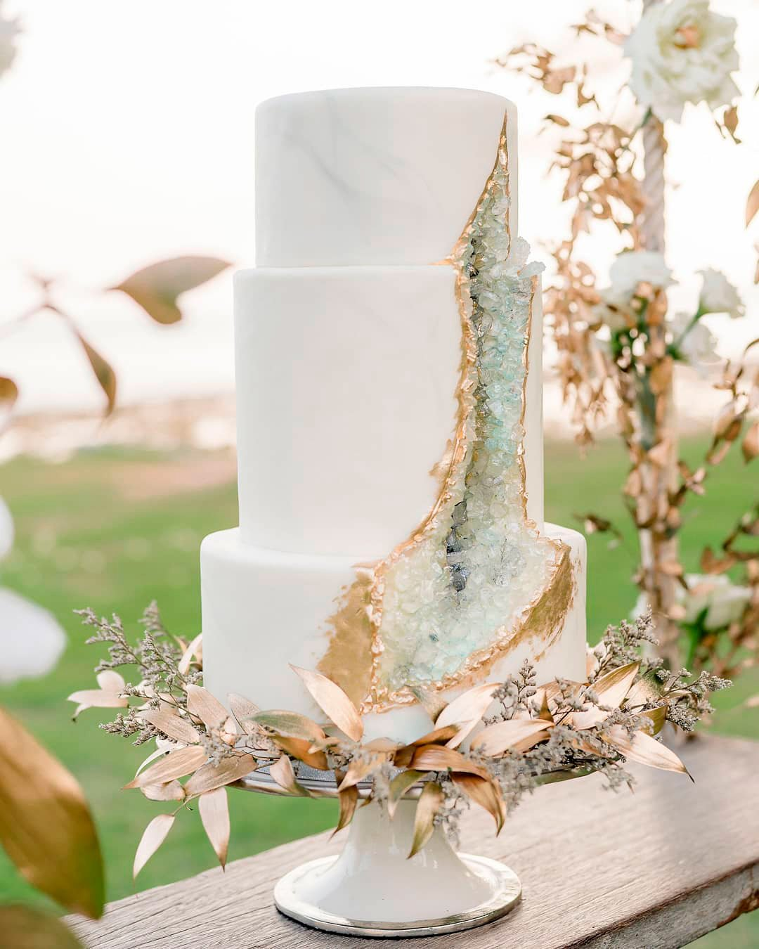 wedding trends textured cake