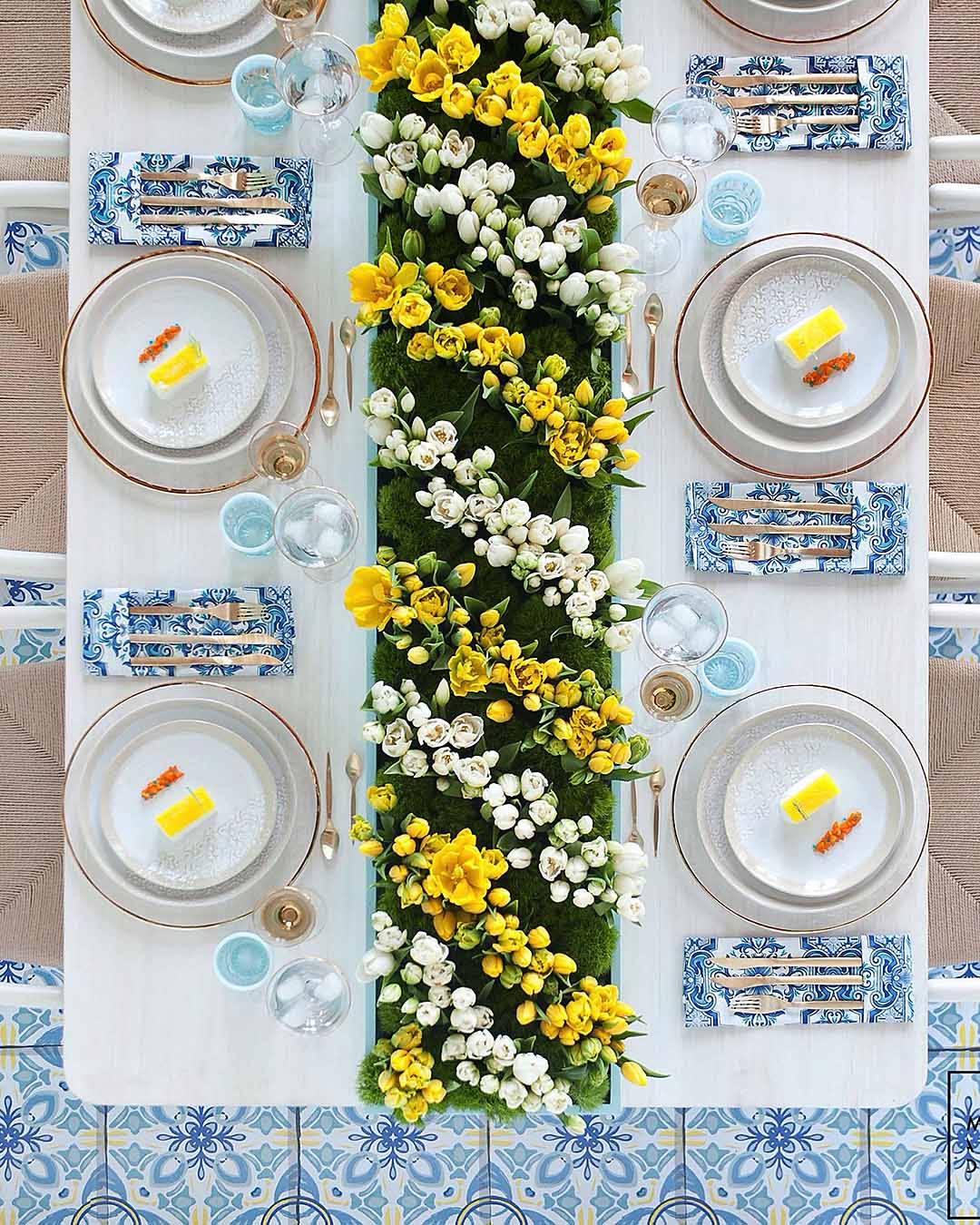 wedding colors marigold yellow blue wedding palette