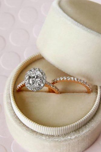 diamond wedding rings halo engagement rings oval cut