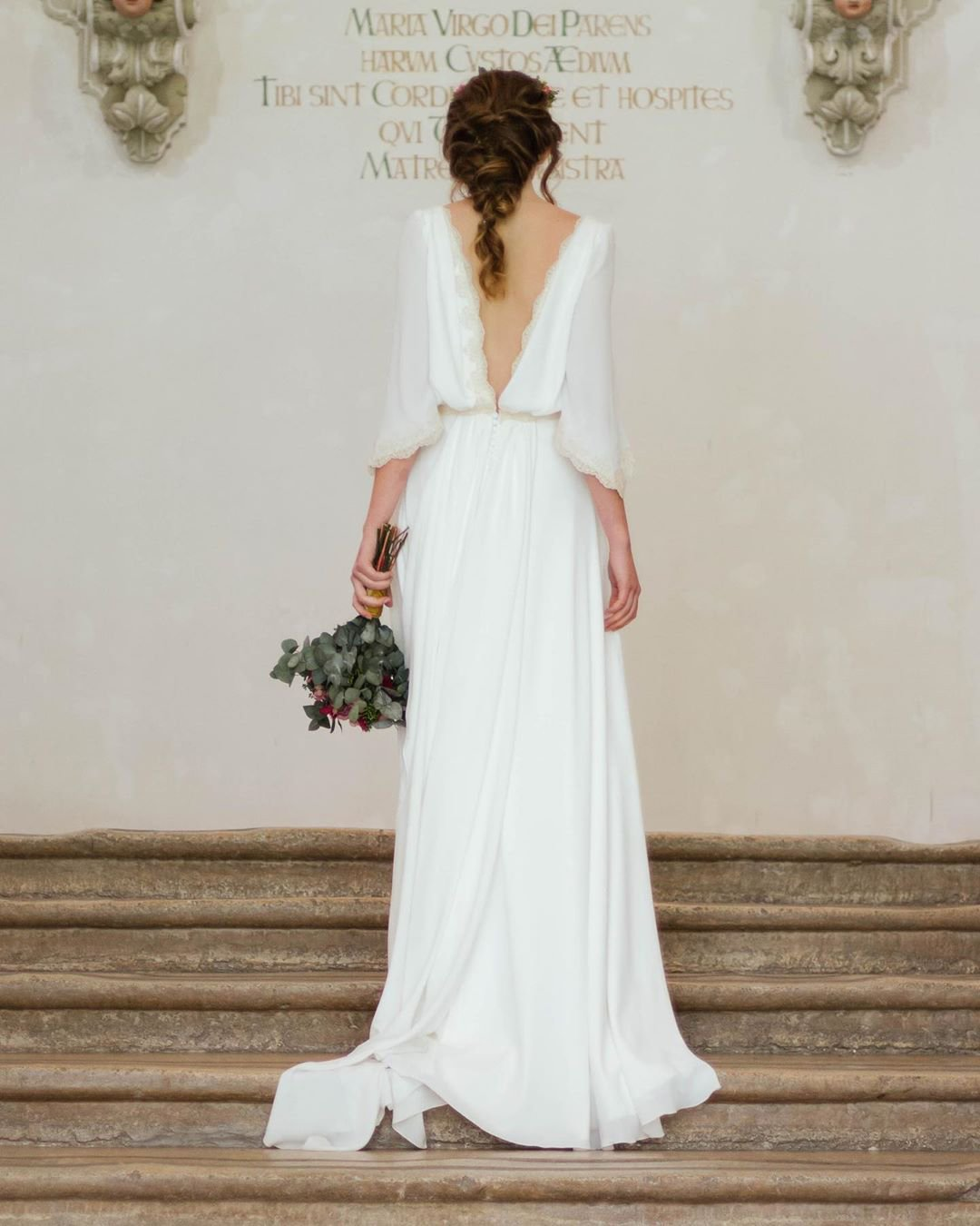 greek wedding dresses a line v back simple empire cayetanaferrer
