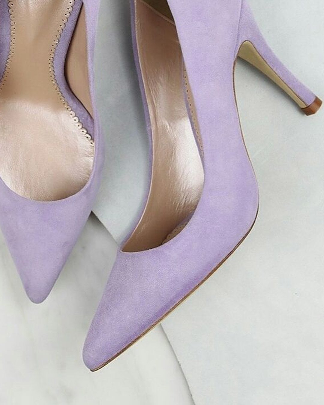lilac wedding colors shoes pumps