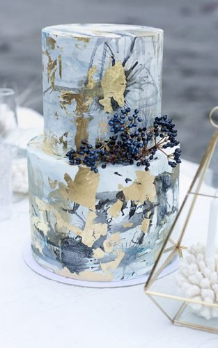 marble wedding cakes featured christina schmidt photography